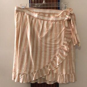 NWOT J.Crew Wrap Skirt